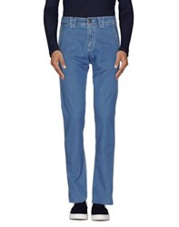 9.2 By Carlo Chionna Denim Denim Trousers Men Blue