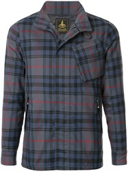 Hysteric Glamour Checkered Jacket Blue