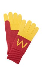 Wildfox Couture Super Fries Finger Food Gloves Multi