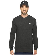 Nike Range Sweater Crew Black Heather Metallic Silver Men's Sweater