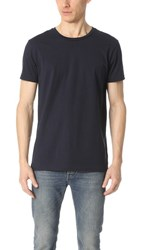 Scotch And Soda Uneven Hem Clean Tee Night
