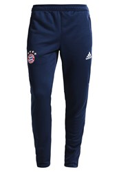 Adidas Performance Fc Bayern Muenchen Tracksuit Bottoms Collegiate Navy White Red