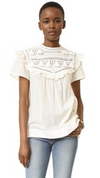 Sea Combo Tassel Top Ivory