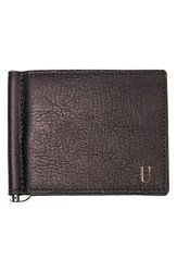 Men's Cathy's Concepts Personalized Leather Wallet And Money Clip Metallic Brown U