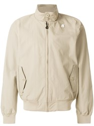K Way Lightweight Bomber Jacket Brown