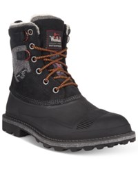 Woolrich Men's Fully Wooly Boots Men's Shoes Black