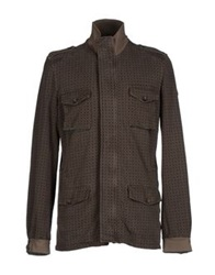Cooperativa Pescatori Posillipo Jackets Dark Brown