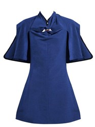 Ellery Holly Of Hollies Cut Out Mini Dress Navy