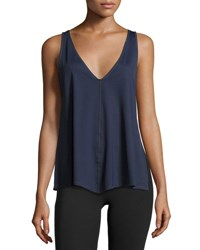 Vimmia Chance Trapeze Tank Top Navy