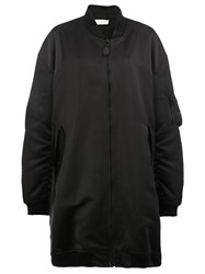 Faith Connexion Zipped Bomber Coat Black