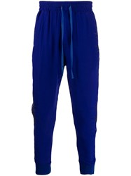 Haider Ackermann Embroidered Track Pants Blue