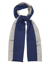 Haider Ackermann Lockjax Silk And Wool Blend Scarf