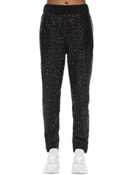 No Ka' Oi Midnight Embellished Techno Jogger Pants Black