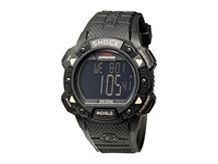 Timex Expedition Shock Chrono Alarm Timer Watch Black Sport Watches