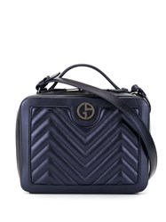 Giorgio Armani Quilted Box Logo Bag 60