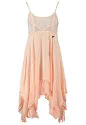 Khujo Gardena Summer Dress Nude Orange