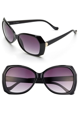 Ivanka Trump 59Mm Sunglasses Black