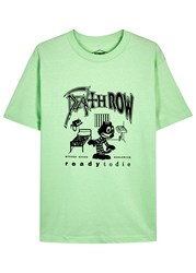 Butter Goods Death Row Mint Green Cotton T Shirt