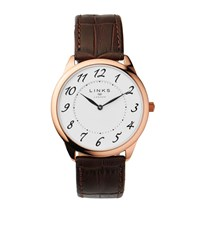 Links Of London Narrative Stainless Steel Watch Female Brown