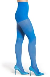 Dkny Women's Light Opaque Control Top Tights Electric Blue