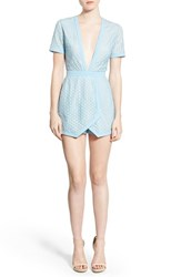 Women's Missguided Plunge Neck Skort Romper