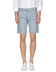 Solid Trousers Bermuda Shorts Men Deep Jade