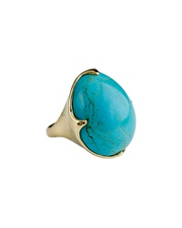 Ippolita 18K Rock Candy Crown Ring In Turquoise