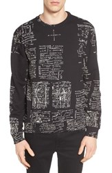 Eleven Paris Men's Elevenparis Writing Graphic Sweatshirt