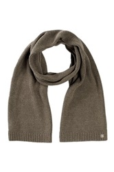Victorinox Essential Knit Ribbed Scarf Green