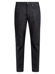 Bottega Veneta Straight Leg Jeans Navy