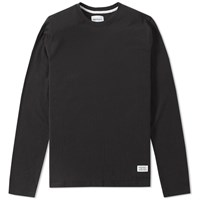 Norse Projects Long Sleeve Niels Basic Tee Black