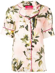 F.R.S For Restless Sleepers Floral Shirt Pink