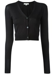 Stella Mccartney Cropped Cardigan Black