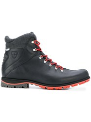 Rossignol Chamonix Boots Leather Polyester Rubber 11.5 Black