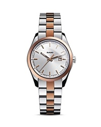 Rado Hyperchrome Quartz Watch 30.6Mm Silver Rose