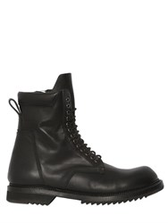 Rick Owens Leather Army Boots