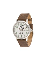 Timex Welton Quartz Sst Watch Brown