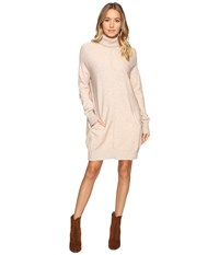 Culture Phit Atia Turtleneck Sweater Dress Oatmeal Women's Dress Brown
