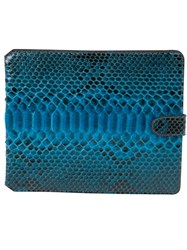 Zagliani Ipad Case Blue