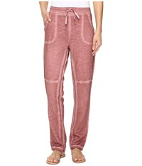 Xcvi Annamay Pants Oil Wash Persimmon Women's Casual Pants Pink