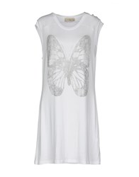 Just For You Short Dresses White
