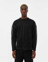 Our Legacy Popover Roundneck Sweater In Black