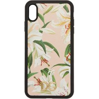 Dolce And Gabbana Pink Lily Iphone Xs Max Case