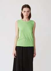 Zucca Supima Light Jersey Tank Light Green