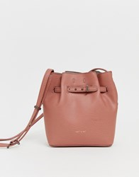 Matt And Nat Mini Lexi Bucket Bag In Clay Grey