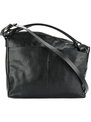 Marsell Asymmetric Shoulder Bag Women Leather One Size Black