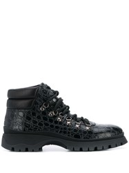 Prada Textured Hiking Style Boots 60