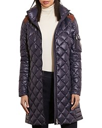 Ralph Lauren Packable Quilted Down Jacket Navy