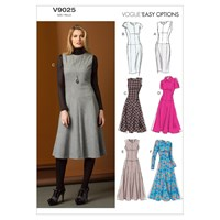 Vogue Easy Options Women's Dress Sewing Pattern 9025