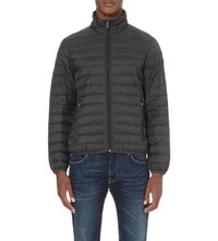 Armani Jeans Quilted Shell Jacket 52 Grigio Grey